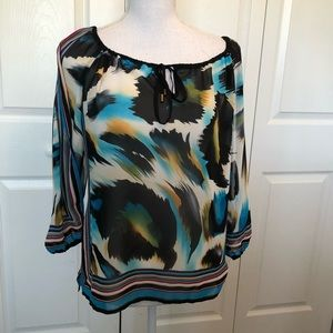 CACHE Sheer Top Small